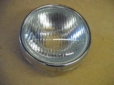 Headlamp - LI (glass and chrome rim)